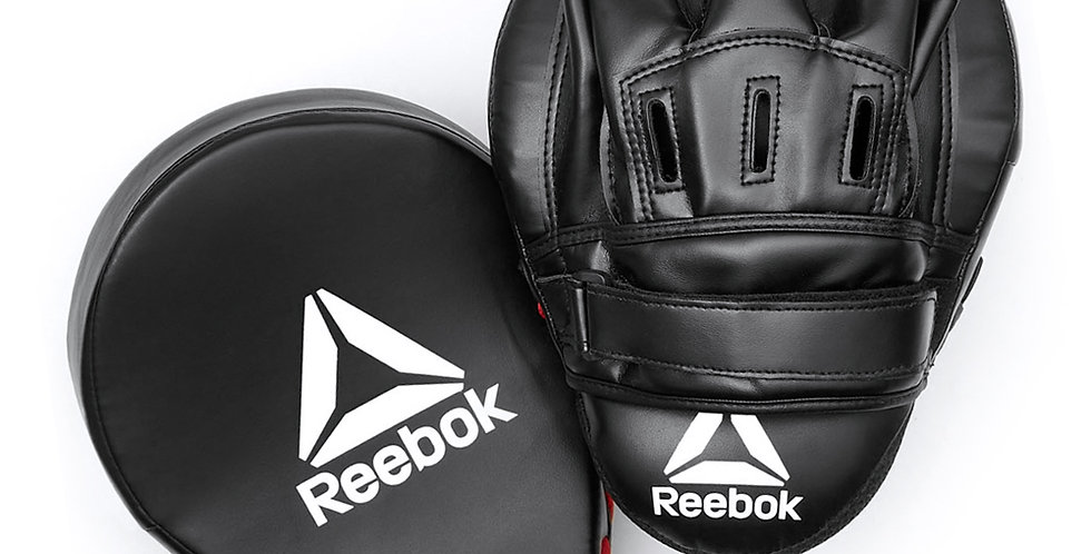 Reebok Combat black and red hook and jab focus pads