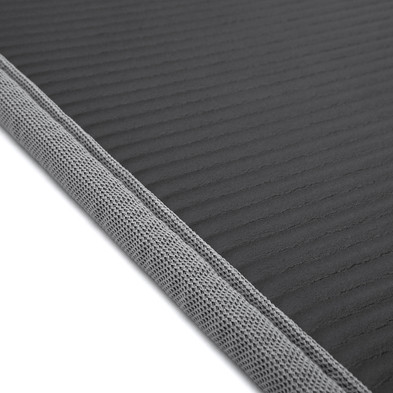 adidas black and grey training mat