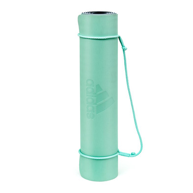 adidas 6mm double sided mint green yoga mat