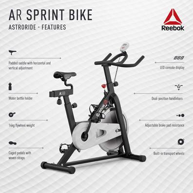 Reebok AR Sprint Bike Features