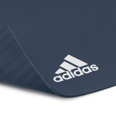 adidas 8mm trace blue yoga mat