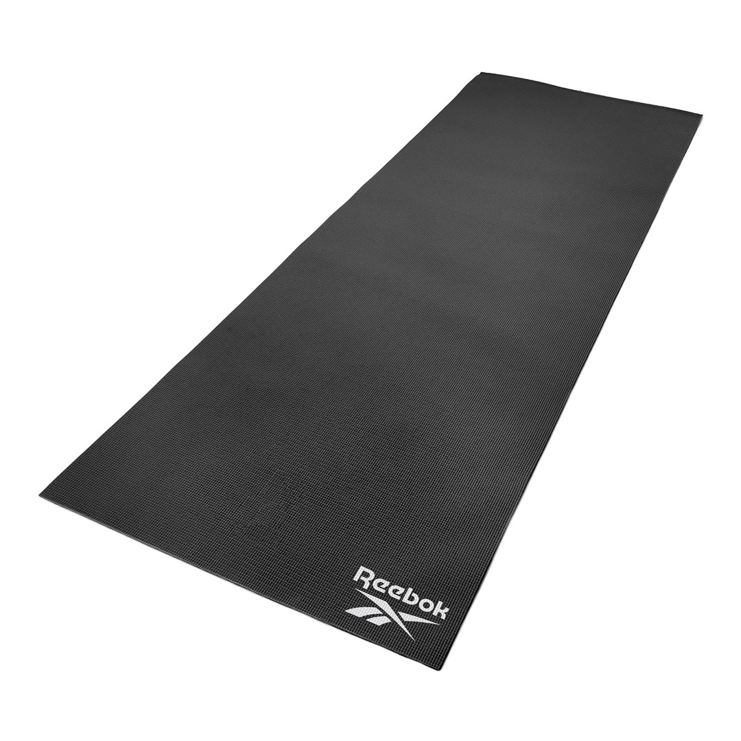 Reebok 4mm Black Yoga Mat