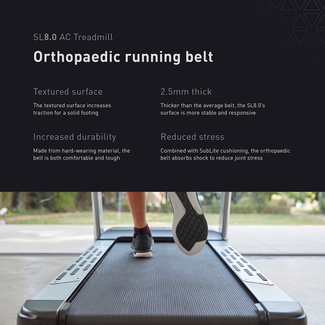 sl8.0 treadmill ac running belt