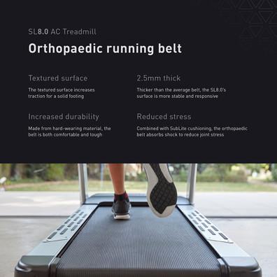 sl8.0 treadmill ac running belt