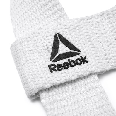 Reebok Training White Lifting Straps
