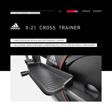 adidas X-21 Cross Trainer Footplates