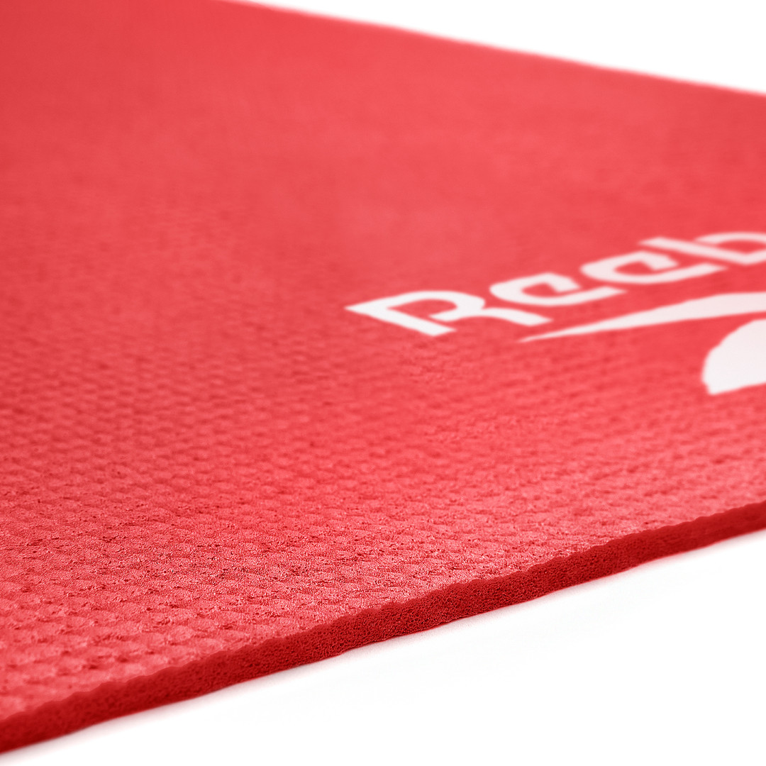 Reebok 4mm Red Yoga Mat