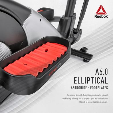 Reebok A6.0 Cross Trainer Footplates