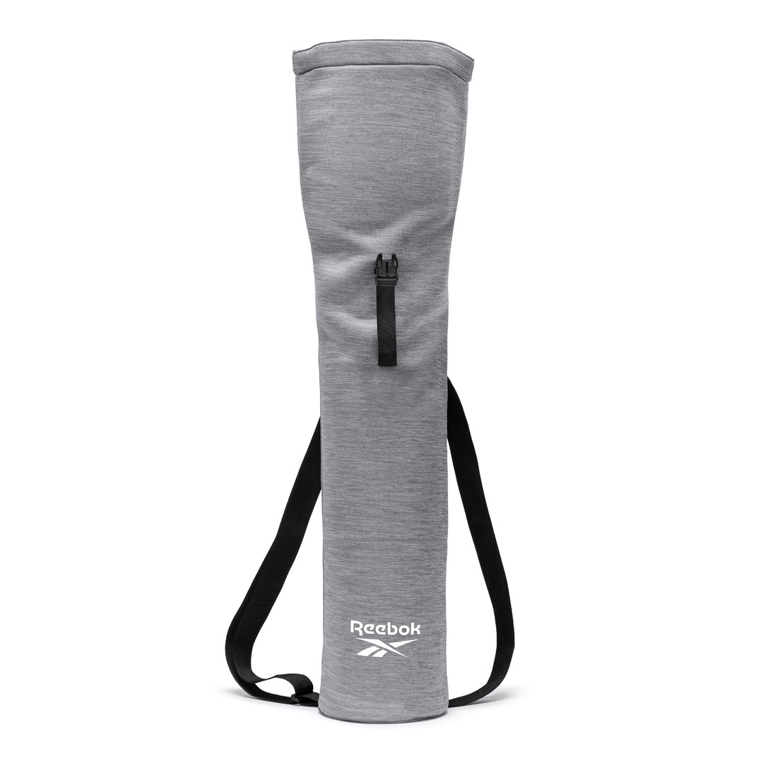 Reebok grey roll top yoga mat bag