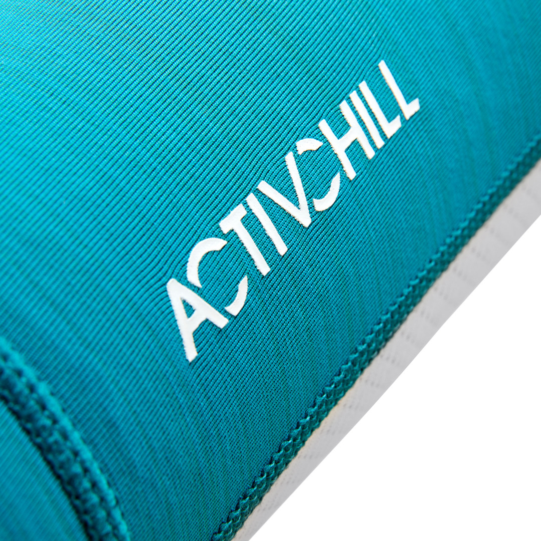 Reebok ACTIVCHILL teal and white arm sleeves