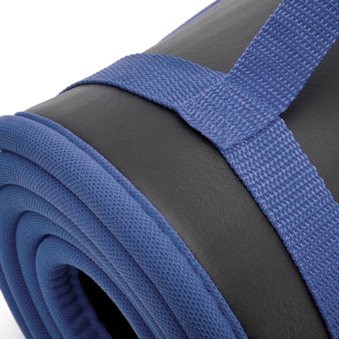 adidas black and blue training mat