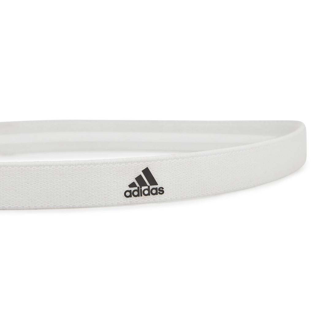 adidas white sports hairband