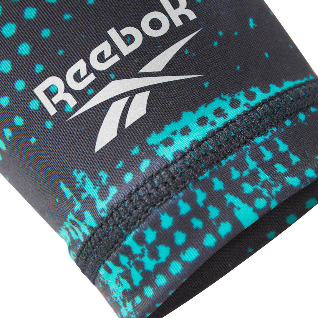 Reebok teal and black geocast arm sleeves
