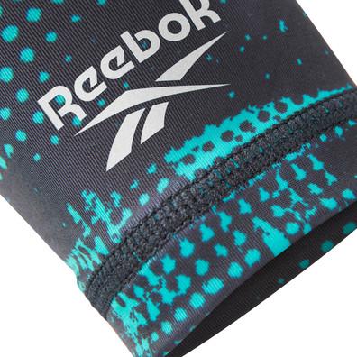 Reebok teal and black geocast arm sleeves