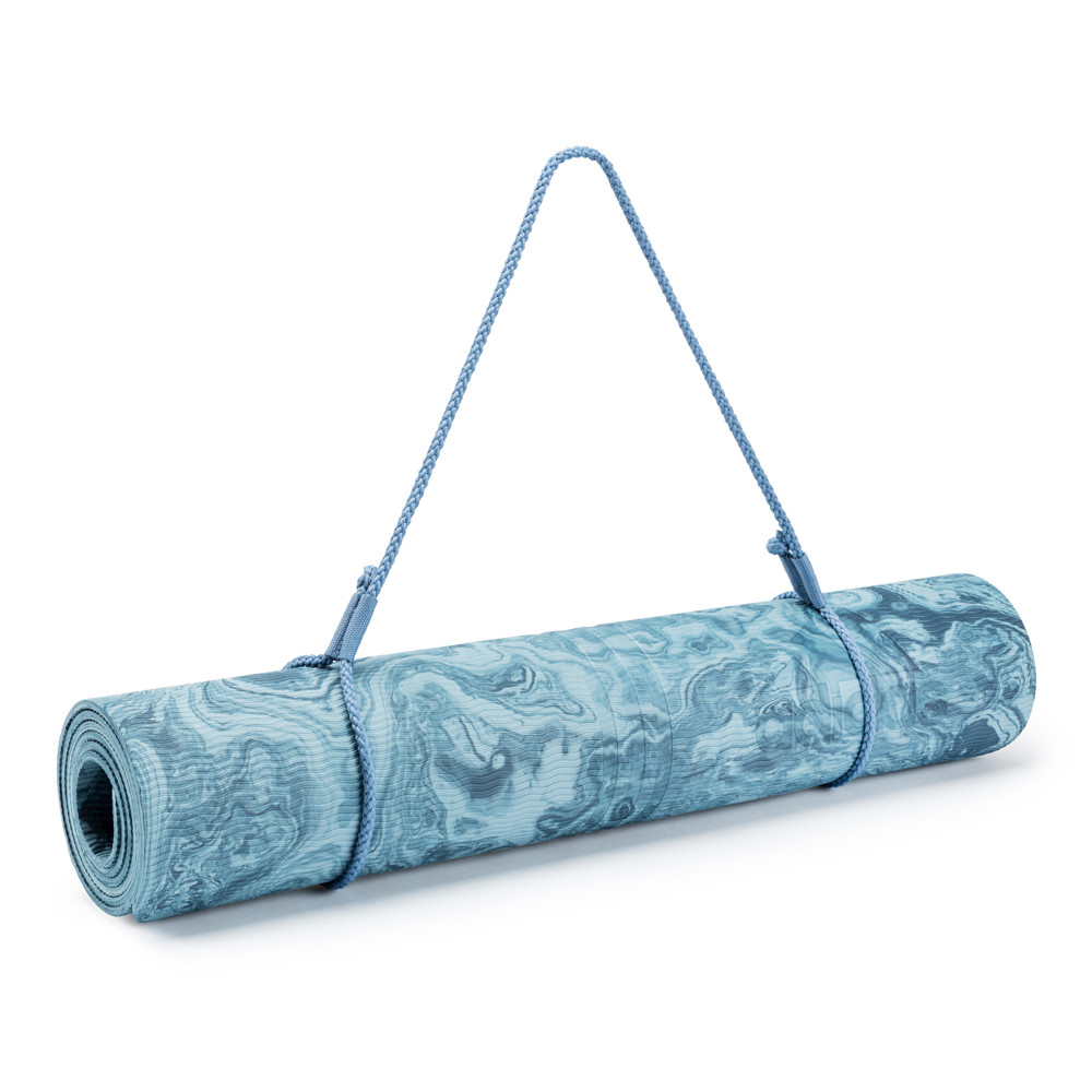 adidas 5mm blue camo print yoga mat