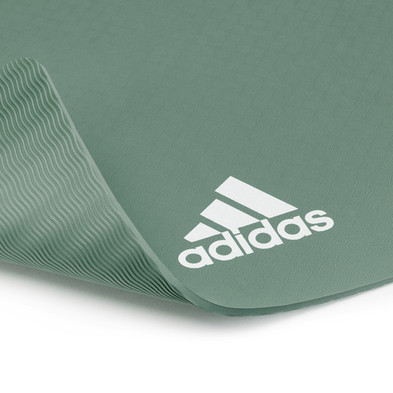 adidas 8mm dark green yoga mat