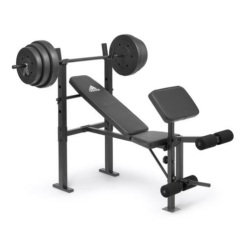 Essential Bench & 45kg Weight Set