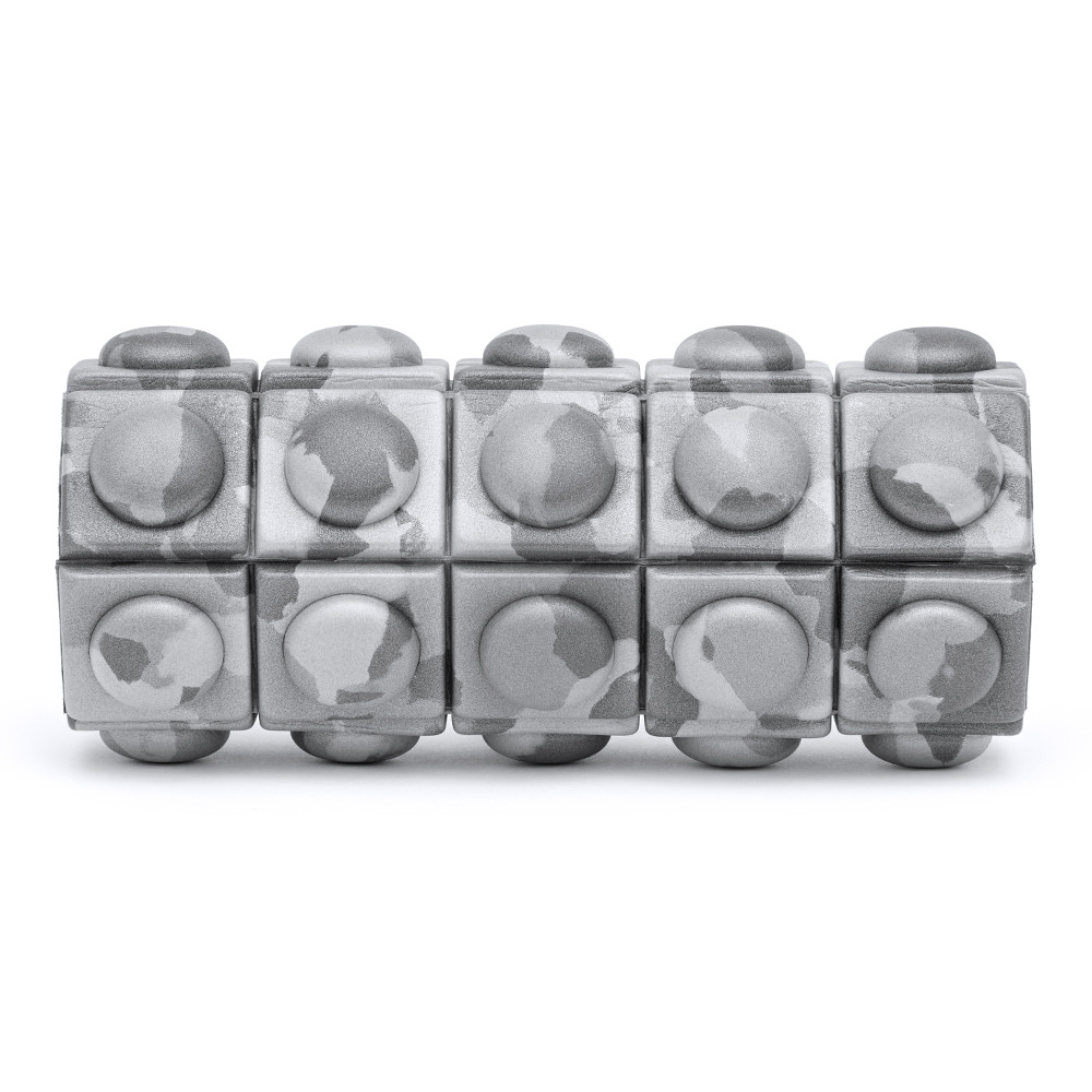 Mini Texured Foam Roller - Grey Camo