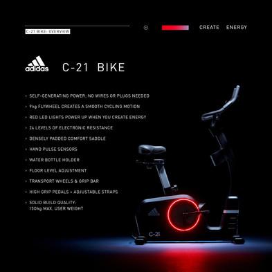 adidas C-21 Bike Overview