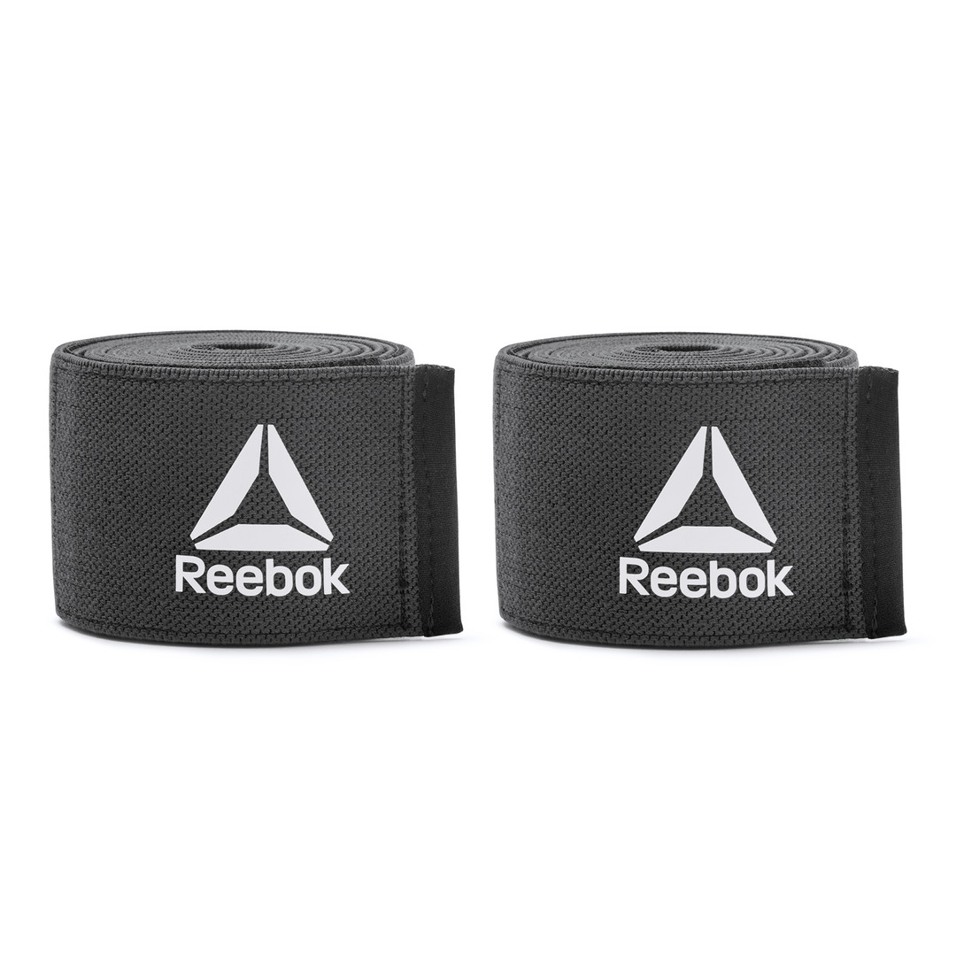 Reebok Training Black Knee Wraps