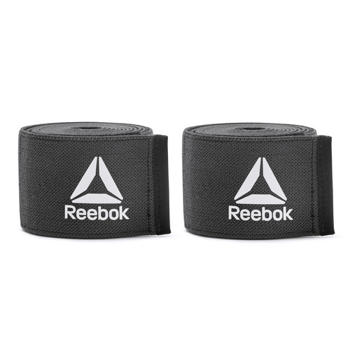 Reebok Training Black Knee Wraps