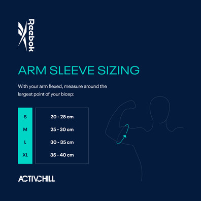 ACTIVCHILL Arm Sleeve Sizing Guide