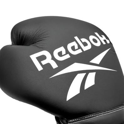 Reebok Black and White Boxing Gloves