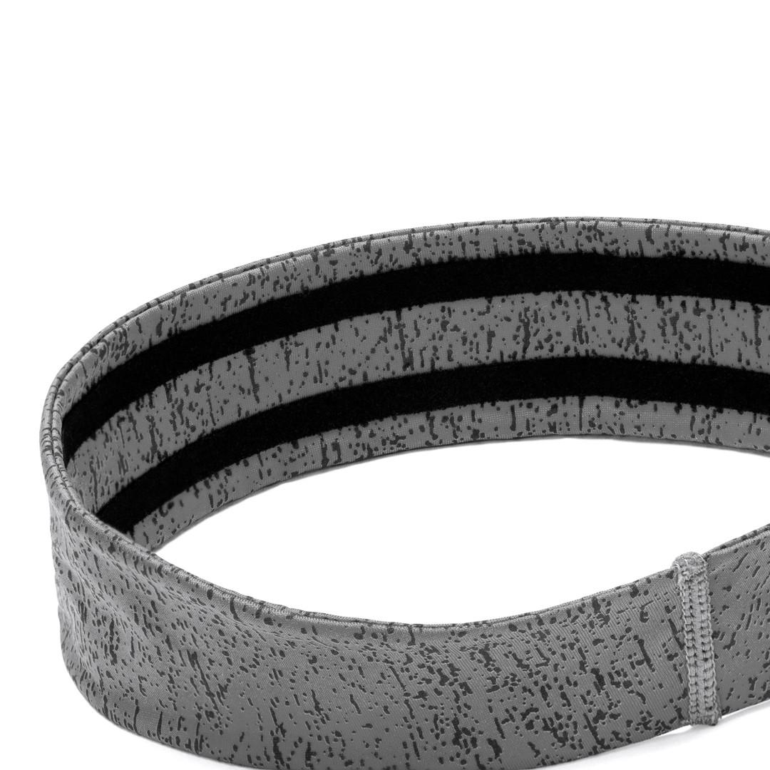 Reebok yoga grey patterned headband