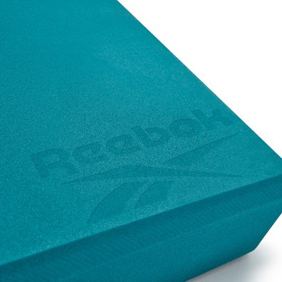 Reebok teal Pilates block