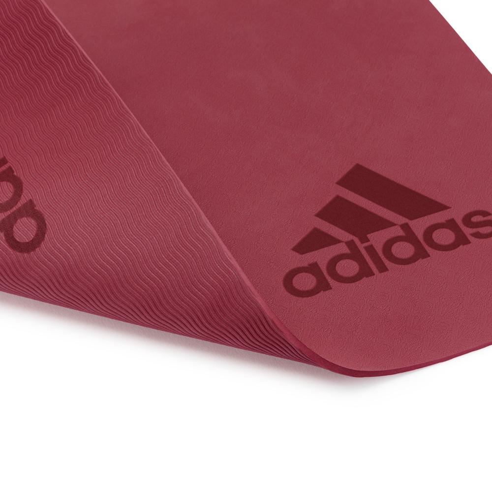 adidas 5mm ruby red yoga mat