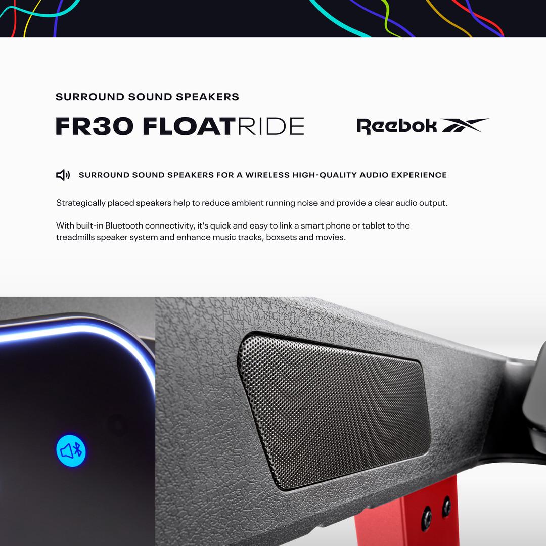 FR30 Treadmill Surround sound