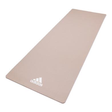 adidas 8mm beige grey yoga mat