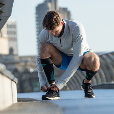 Reebok Knitted Compression Calf Sleeves