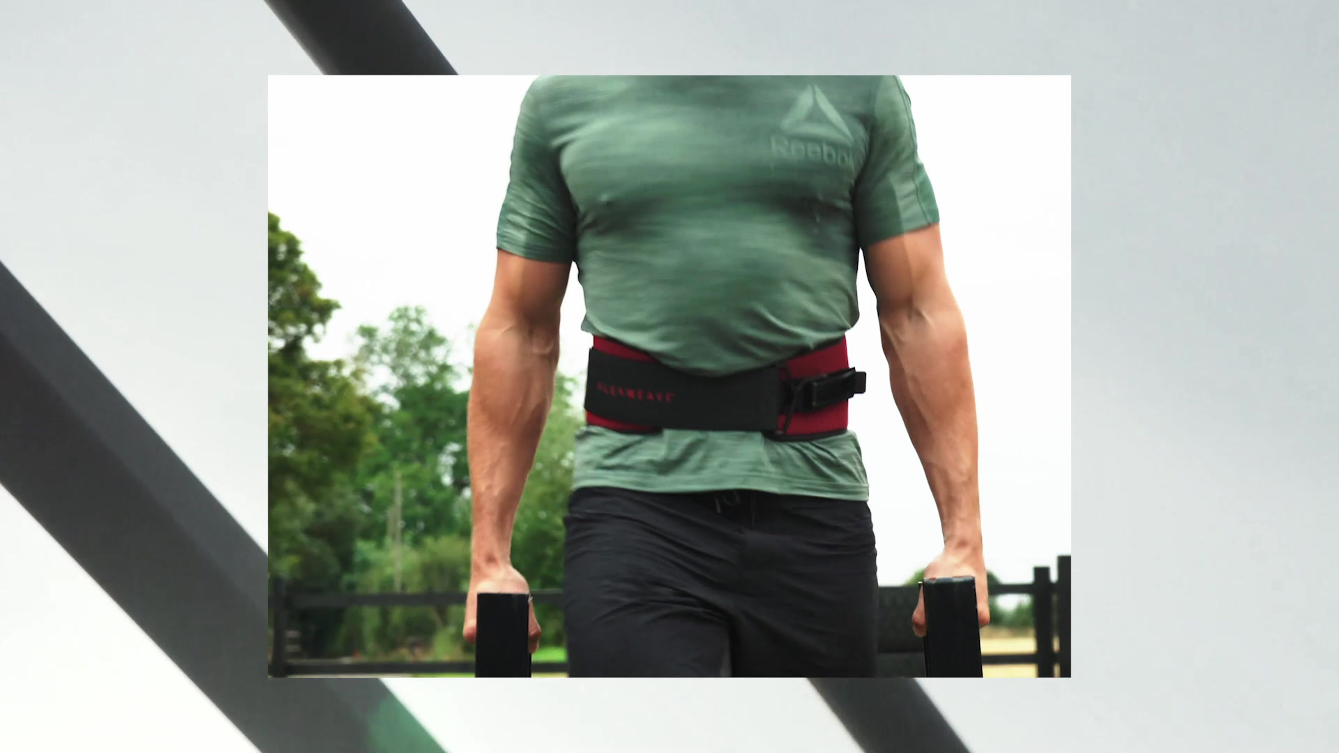 Reebok Training Flexweave Belt - Red