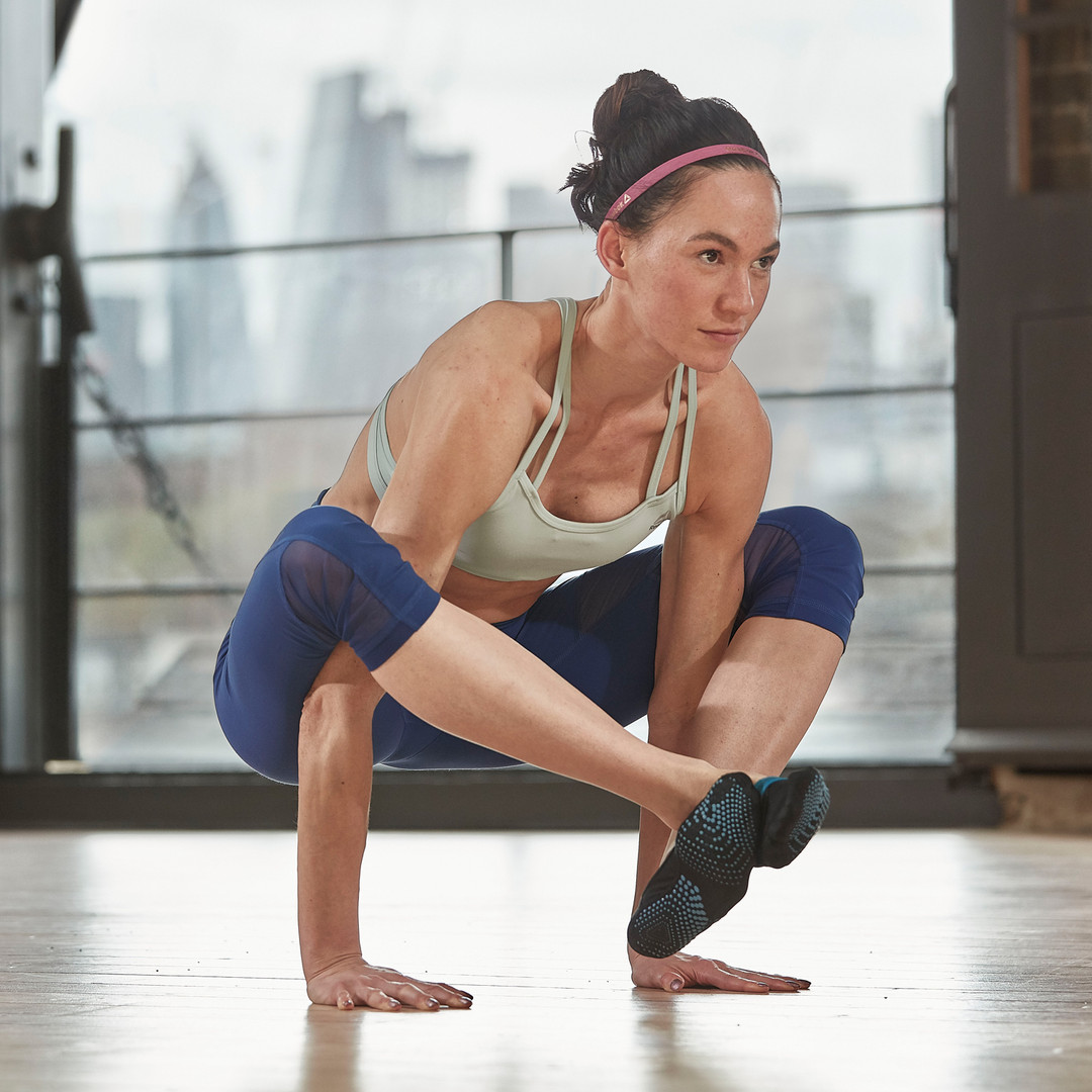 Reebok yoga socks with silicone grip