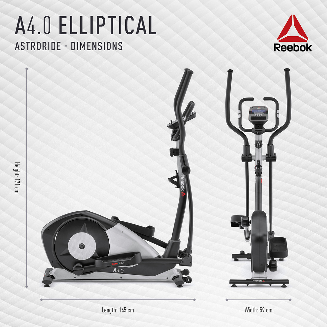 Reebok A4.0 Cross Trainer Dimensions
