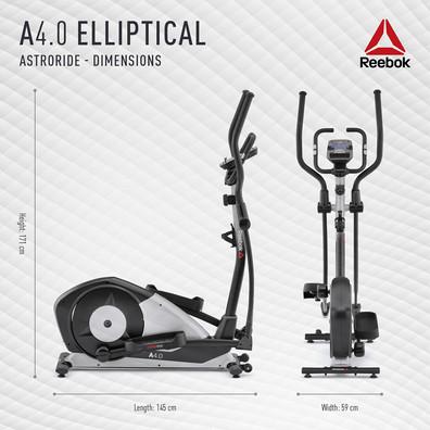 Reebok A4.0 Cross Trainer Dimensions