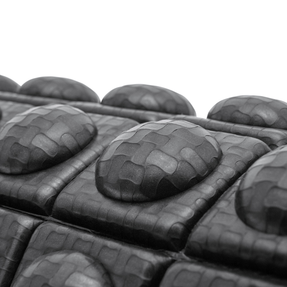 adidas Black Textured Foam Roller