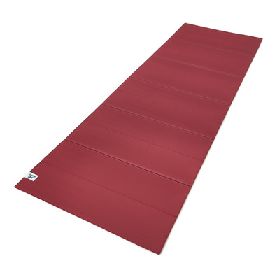 Reebok 6mm rustic wine foldable yoga mat