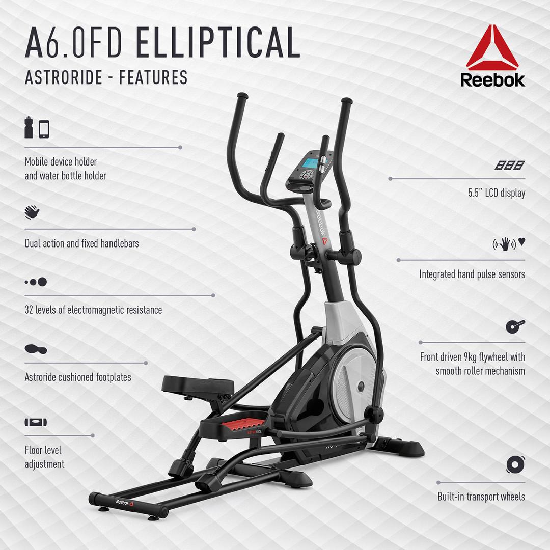 Reebok A6.0FD Cross Trainer Features