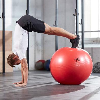 adidas Orange Gym Ball
