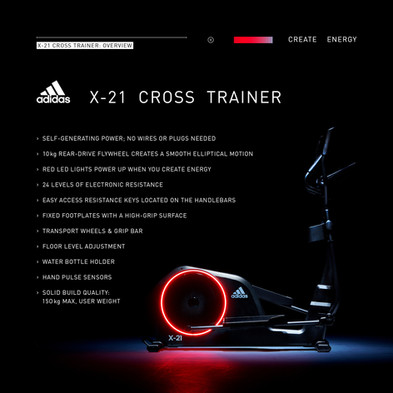 adidas X-21 Cross Trainer Overview
