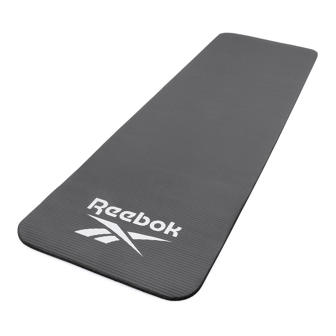 Reebok black training mat