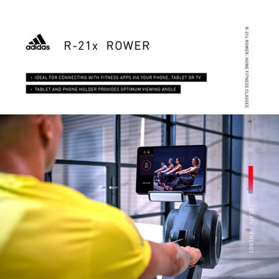 adidas R-21x Rower Home Fitness