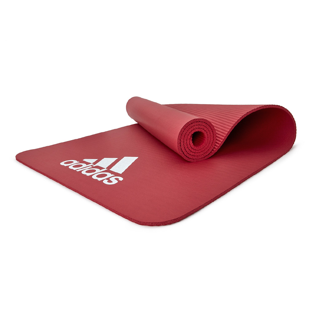 adidas red fitness mat