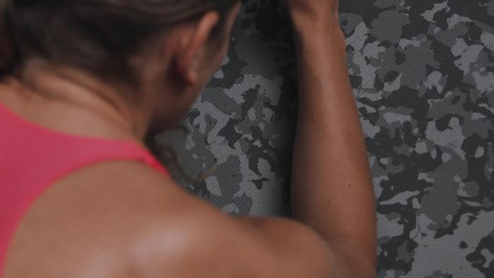 adidas Training Mat Grey Camo