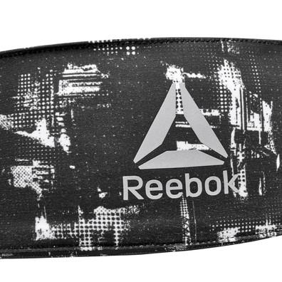Reebok Black & White Geocast Tie Headband