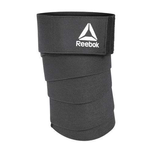 Reebok Training Black Knee Support Wraps
