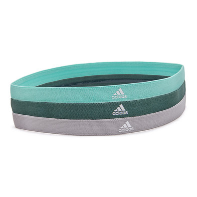 Sports Hairbands - Mint, Green & Grey