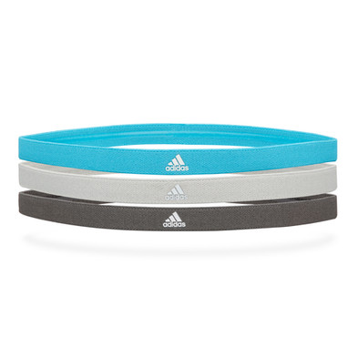 adidas pack of 3 sports hairbands